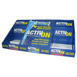 Activon counter display