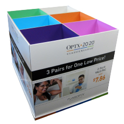 optix pallet display