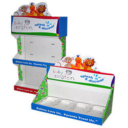 Baby Einstein counter displays