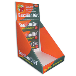 Brazilian diet counter display