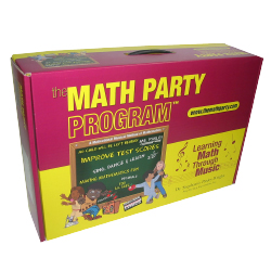 The Math Party Program litho laminated retail box