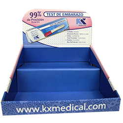 KX Medical counter display