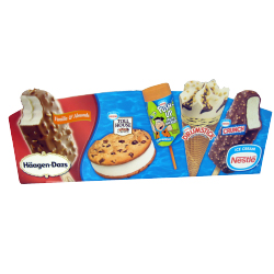 Nestle litho laminated retail box