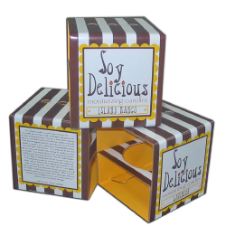 Soy Delicious candles litho laminated retail box