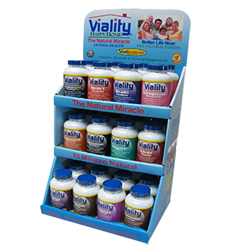 viality counter display