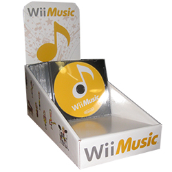 Wii Music counter display