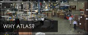 Atlas Packaging & Displays manufacturing plant