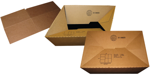 Auto-lock bottom boxes