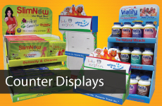 Custom Corrugated Counter Displays