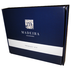 madeira litho laminated retail box
