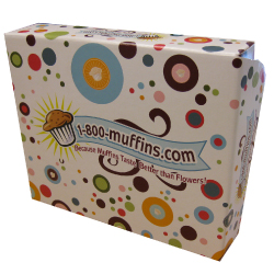1 800 muffins litho laminated retail box