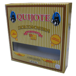 quijote chorizo litho laminated retail box