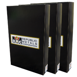 Republic Metals Litho Laminated Boxes