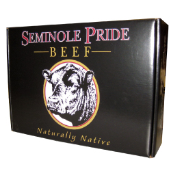Seminole Pride Beef Litho Laminated Retail Box