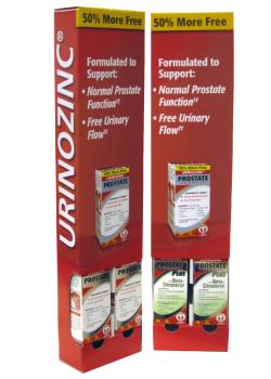 Urinozinc Corrugated Cardboard Gravity-Feed