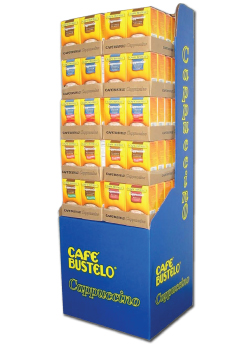 bustelo floor display