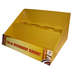 Entertainment Cardboard Counter Display