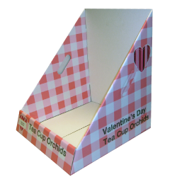 Corrugated Cardboard Counter Display